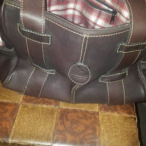 Ruger Piel hecha arte brand naked leather purse